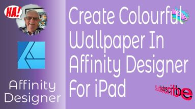 Create Colorful Wallpaper in Affinity Designer for iPad