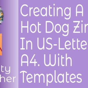Creating A Hot Dog Zine In Affinity Publisher For US-Letter & A4