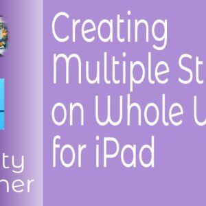 Creating Multiple Strokes on Whole Words in Affinity Designer for iPad