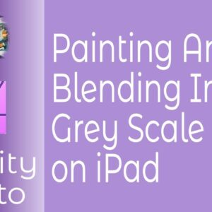Drawing and Painting With Affinity Photo. Blending Explained On iPad