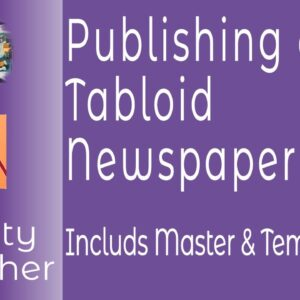 Creating a Tabloid Newspaper From A Master File for Either Print or Digital With Affinity Publisher