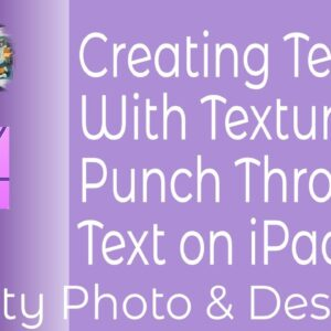 Creating Text With Texture Or Punch Through Text in Affinity Photo & Designer