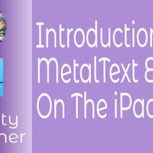 Introduction to Metal Text Effects in Affinity Designer On The iPad