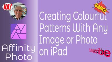 Use a Single Photo to Create Multiple Colourful Patterns In Affinity Photo for iPad