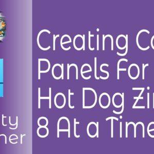 HotDog Zine Comic Panels in Affinity Designer for Use In Publisher HotDog Zine. Comic Creation.