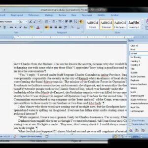 Smashwords Formatting Tutorial (2/3)