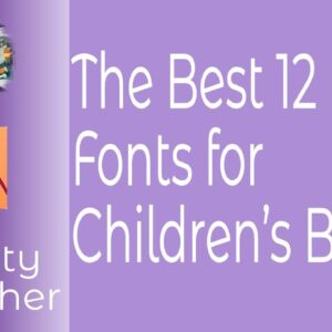 The Best 12 Free Fonts for Children's Books - In Affinity Publisher