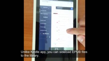 Using an Android Tablet to Read eBooks