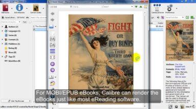Using Calibre to Read eBooks