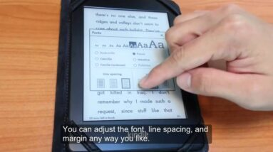 Using the Kindle Paperwhite to Read MOBI eBooks