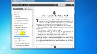 Viewing an EPUB and MOBI eBook on Your PC