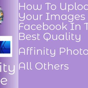 #StayHome How To Upload Your Images to Facebook In The Best Quality #WithMe