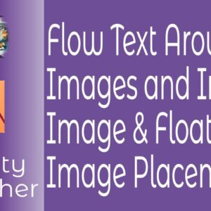 Flow Text Around Images and InLine Image & Floating Text Placement In Affinity Publisher