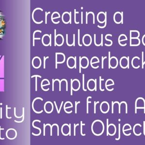 How To Create Fabulous Book Covers in Affinity Photo Using PS Smart Objects or Affinity Embedded Doc
