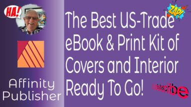 The Best US Trade eBook & Print Kit of 8 Covers and An Interior Ready To Go