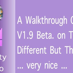 A Walkthrough Of v1.9 Affinity Photo. Different but the Same