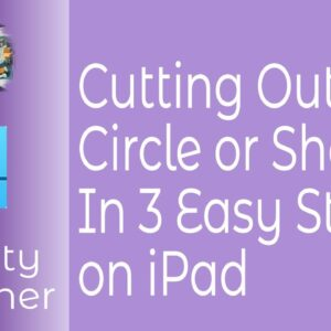 Cutting Out  A Circle Or Shape In Affinity Designer in 3 Easy Steps