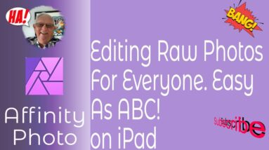 Editing Your Raw Files On iPad! It's Easy. Here's How. Take Control