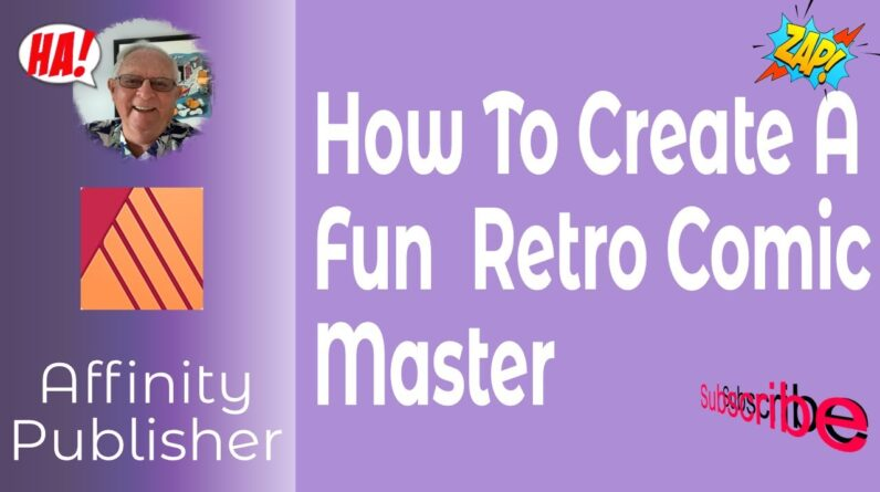 How To Create A Fun Retro Comic Master Using Fantastic Original Comics From The Archive