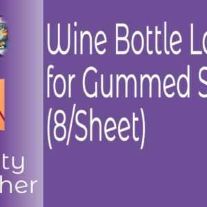 Wine Bottle Labels or Beer Bottle in Affinity Publisher and Affinity Photo. Labels of Any Size
