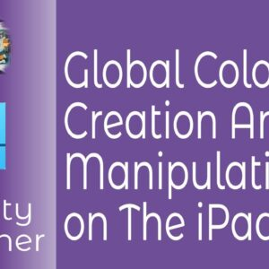 Global Colour Manipulation & Creation in Affinity Designer on The iPad