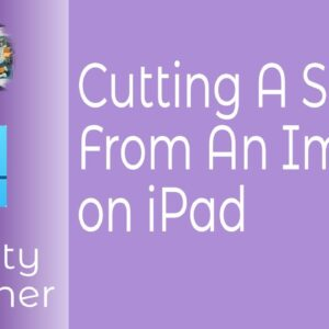 How To Cut A Shape Out Of An Image In Affinity Designer In iPad