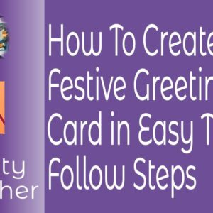 How to Create a Festive Greetings Card in Affinity Publisher In Easy To Follow Steps For Mac or PC