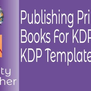 Publishing Print Books With Affinity Publisher & KDP Templates