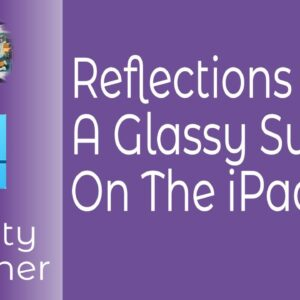 Reflections On A Glassy Surface Or How To Create A Mirror Effect