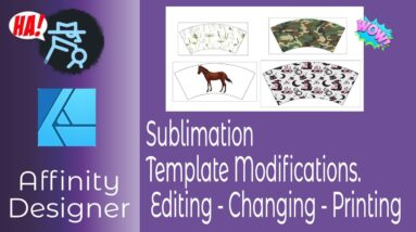 Sublimation Templates in Affinity Designer-Editing-Changing -Printing and Multiple Template Images