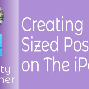 How To Create Full Size Posters On The iPad With Affinity Designer