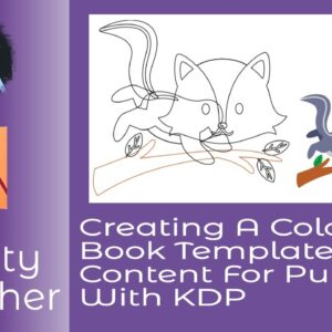 Create Colouring Books With Affinity Publisher And Designer For Publishing Using KDP Templates