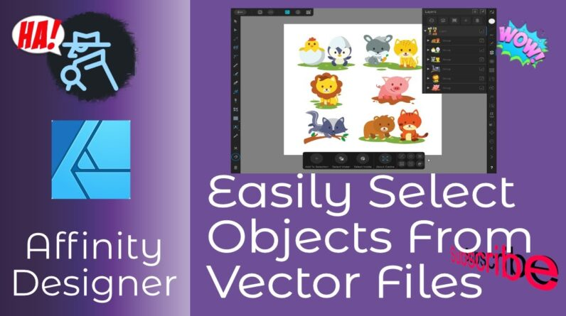 Easily Select Objects From Multiple Object eps Or svg Image Files And Make Sublimation A Lot Easier