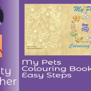 My Pets Colouring Book In Affinity Publisher In Easy Steps Walks Your Through Setting Up A Paperback