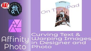 Curving Text & Warping Images on The iPad - A Beginners Exercise