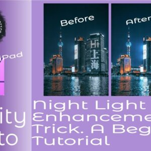 How To Improver Your Night Photos - An Affinity Photo on iPad Beginners Tutorial