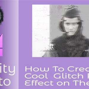 How to Create a Cool Glitch Photo Effect in Affinity Photo on The iPad