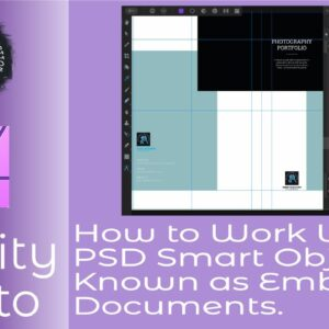 How to Work With PSD Smart Objects Known as Embedded Documents In Affinity Photo