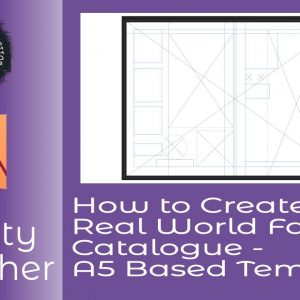 How to Create A Real World Fashion Catalogue A5 Based Template   Including The Cover