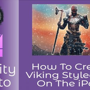 How to Create Viking Portrait Art in Affinity Photo for iPad Just For Fun Learning and New Skills